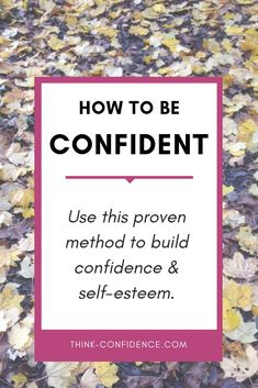 If you struggle with self-confidence or self-esteem - use this amazing method to give yourself a boost. Great for work and social situations. Click pin to start it straight away. Building Self Confidence, Self Confidence Tips, Confidence Quotes, Self Development, Personal Development, Finding Happiness, Inner Strength, Self Improvement Tips, Self Esteem
