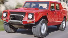 or the Classic Lambo LM-002. Nothing like a v-12 to get you to soccer practice.