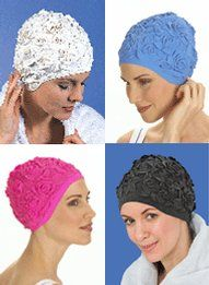 Floral Bathing Cap