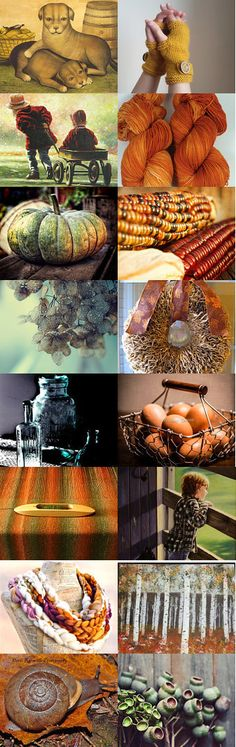 Autumn's Be-Still-My-Heart Colors by Linda Voth on Etsy--Pinned with TreasuryPin.com