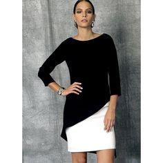 Kleid, Vogue 1470 | 40 - 48 - Vogue - Kleider- stoffe.de