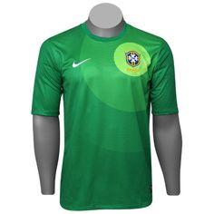 Camisa Goleiro Seleção Brasileira
