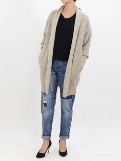 ロングガウンニットカーディガン|NIZIIRO(ニジイロ) / NIZIIRO ONLINE STORE #ファッション #レディース #fashion…