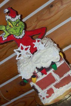 Chocolate Peanut Butter cake-- goodness!