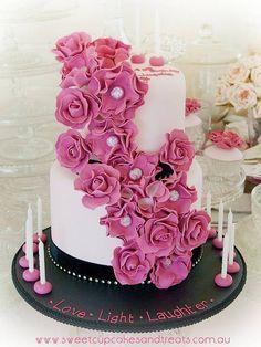Love, LIght & Laughter cake.