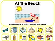 Its almost summertime! Lets plan a trip to the beach!This adapted and interactive Velcro book is modified for the accessibility of all students. It's perfect for an independent Literacy center, work station, task basket, SLP activity, or a guided reading activity.