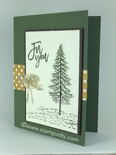 A perfect masculine card for any occasion!  Get the Thoughtful Branches limited time bundle now!  #stampinbj.com