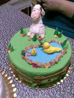 Sheep an ducks