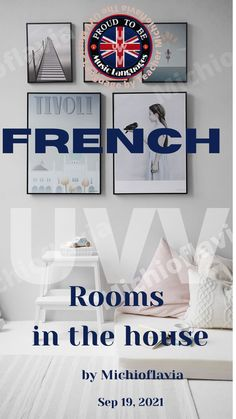 Rooms in the house - French - The UVV Music Language by Teacher Michioflavia