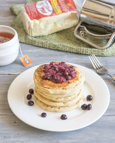 The Perfect Gluten Free Vegan Pancakes