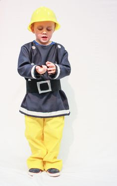 Now, to see if I can actually do this: One Little Minute - http://www.onelittleminuteblog.com/2012/11/fireman-sam-costume/
