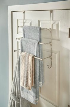 Organizational Upgrades for Small Spaces | The storage bins you've had since college have served their purpose, so it's time to move on to organizers that are as beautiful as they are functional. from over the door hooks to vertical shoe storage
