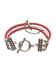 bratara piele naturala Martie, Bracelets, Jewelry, Fashion, Moda, Jewlery, Jewerly, Fashion Styles, Schmuck