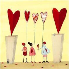 fav of all! Illustrations, Graphic Illustration, Sweet Pic, Clip Art, Happy Art, Butterfly Art, Heart Art, All Poster, Whimsical Art