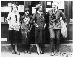 1920s American Writers in Paris | You are all a lost generation. —Gertrude Stein
