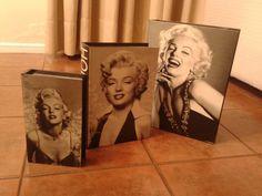 Las caras de Marilyn.