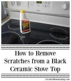 Clean Your Ceramic Stove Top With These Easy Tips.