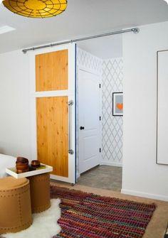 schiebet ren selber bauen auf pinterest schiebet ren schr nke und kleiderschrank. Black Bedroom Furniture Sets. Home Design Ideas