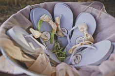 Beach Wedding in Kiotari Rhodes » GoldenApple, Weddings in Greece #flipflops