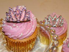 Crown Cupcakes, Birthday Parties, Kid Parties, Birthday Ideas, Baking, Princess, Desserts, Jewelry, Soap