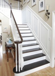 Picture Frame Molding (going to do this our stairs!)