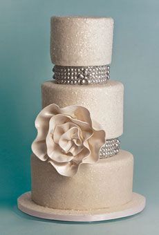 Brides: Outstanding Wedding Cake Designs