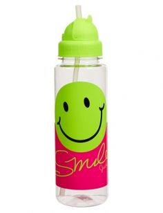 Justice+Water+Bottles   Smile Water Bottle With Straw   Girls {category} {parent_category ...