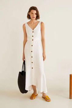 El nuevo vestido de botones de Paula Echevarría que deberías copiar 6093cf36bbab