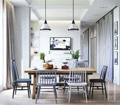 Biała cegła w małym mieszkaniu | Bajkowe Wnętrza