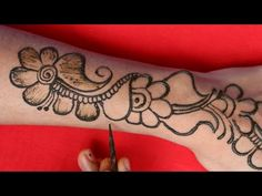 Back Hand Mehndi Designs, Simple Arabic Mehndi Designs, Mehndi Simple, Mehandhi Designs, Simple Designs, Mahendi Design, Simple Man, How To Apply, Henna