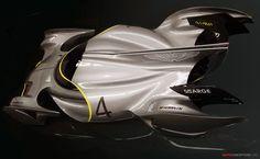 future concept designs race cars | ... concept vehicle is a future zero-emission racing car designed by Ege