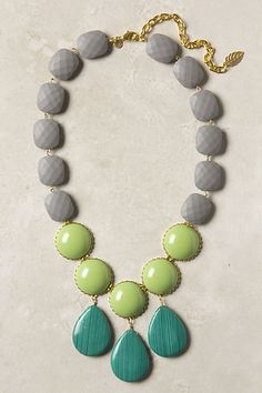 30 Trendy Jewelry and Top Jewelry Trends                                                                                Love the color combo.