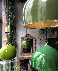 "Lampe toque, les ""Suspentes Keaton"" by Béatrice Markovitch. Lustre Vintage, Ceramic Light, Ceramic Lamps, Ceramic Texture, Ceramic Pottery, Deco Luminaire, Home And Deco, Lampshades, Pendant Lamp"