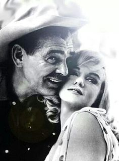 Marilyn Monroe & Clark Gable