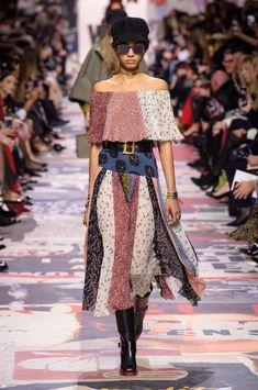 Christian Dior at Paris Fashion Week Fall 2018 - Runway Photos
