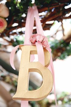 Elegant Pink and Gold Baby Shower | The Little Umbrella