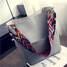 Luxury Women Bags Designer Brand Famous Shoulder Handbag Female Vintage Satchel Bag PU Leather Gray Crossbody Shoulder Bags