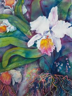 Carole Byers - Orchid delight
