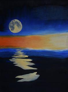 Oil on Canvas: Moonlight