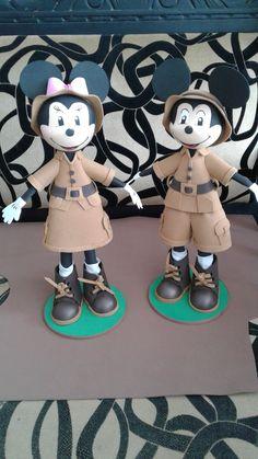 fofuchos mickey safari Safari, Mickey Mouse, Disney Characters, Fictional Characters, Bebe, Fantasy Characters, Baby Mouse