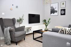 "Salon ""Colors of Grey"" - zdjęcie od Yumi Design - Salon - Styl Skandynawski - Yumi Design"