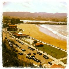 Neguri beach, vizcaya. Spain