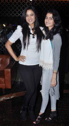 Shweta Tiwari with daughter Palak at screening of 'Kis Kisko Pyaar Karoon'. #Bollywood #Fashion #Style #Beauty #Hot
