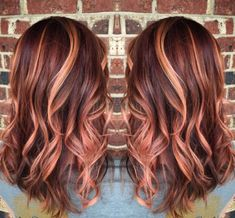 46 Beautiful Rose Gold Hair Color Ideas The most beautiful hair ideas, the most trend hairstyles on Perfect Hair, Great Hair, Cabelo Rose Gold, Gold Hair Colors, Hair Colours, Hair Color And Cut, Hair Dos, Ombre Hair, Gorgeous Hair