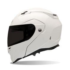 Bell Revolver Evo Street Helmet, Street Helmet, Bell, Solid White  - Langston Motorsports