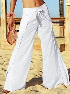 Wrap Pants - free pattern #diypantssummer