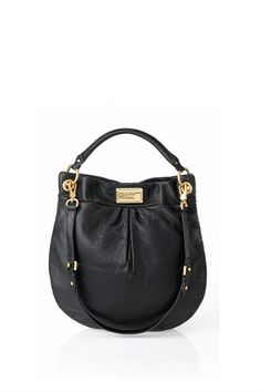 6a4038f757c9 Classic Q Hillier Hobo textured leather shoulder bag by Marc Jacobs