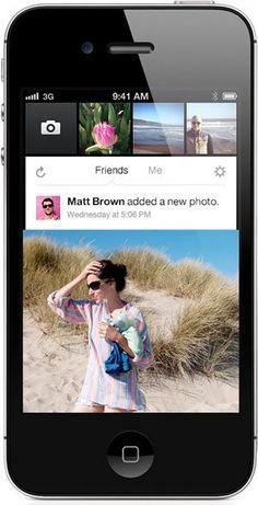 The Instagram-ish Facebook Camera App