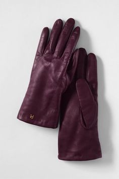 Women's Luxe Leather Gloves - Lovin this color for Fall/Winter!
