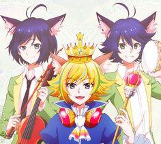 Trichronika - Show by Rock!! - Riku, Shu Zo, and Kai